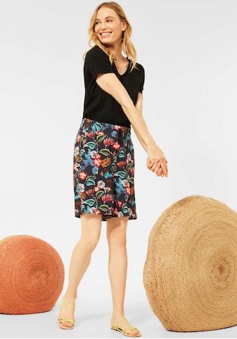 Cecil Shorts »Style Chelsea«, mit farbenfrohem Blumendruck kaufen