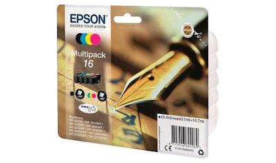 Epson »Multipack 16, T1626, original Kombi - Pack (bl+c/m/y) C13T16264012« Tintenpatrone kaufen