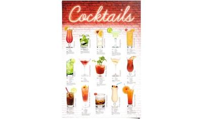 Reinders! Poster »Cocktails Rezepte«, (1 St.) kaufen