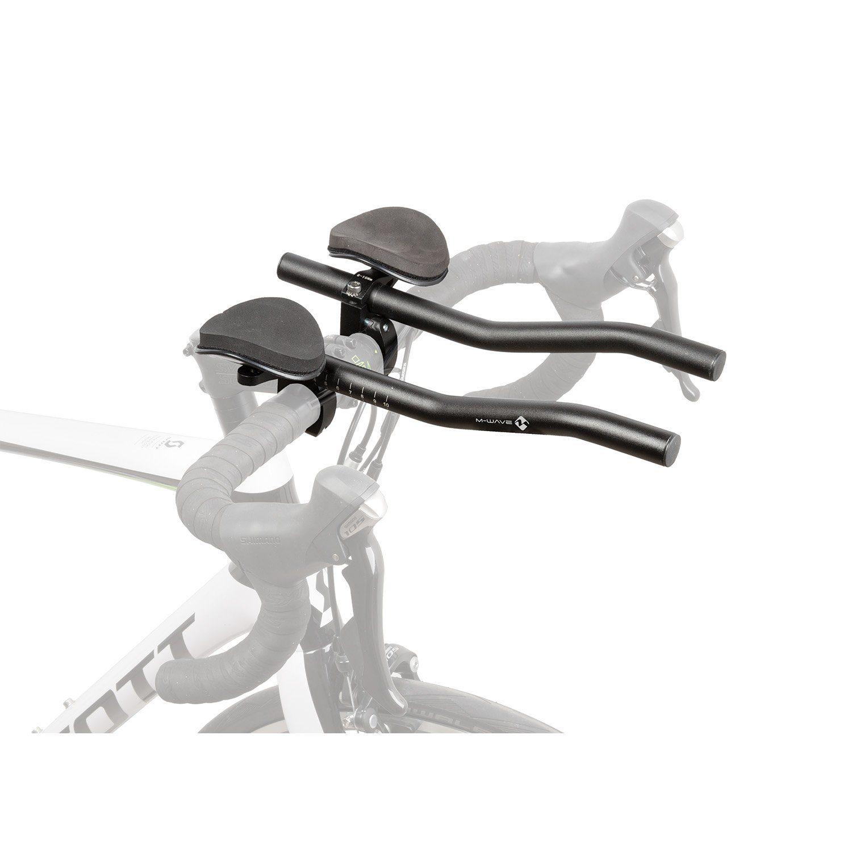 M-WAVE Triathlon-Aufsatz Aero F Technik & Freizeit/Sport & Freizeit/Fahrräder & Zubehör/Fahrradzubehör/Fahrradteile/Fahrradlenker