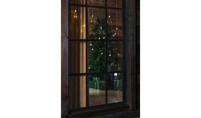 KONSTSMIDE LED Lichtervorhang, 8 Plexisterne kaufen