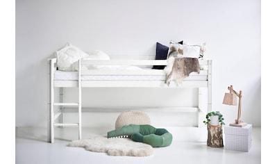 Hoppekids Hochbett »BASIC«, (Set, Bett), umbaubar in ein Einzelbett kaufen