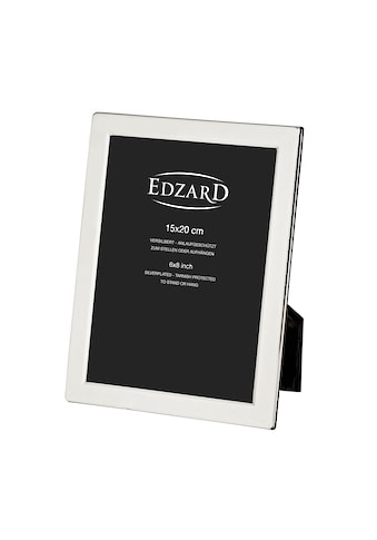 EDZARD Bilderrahmen »Salerno«, versilbert und anlaufgeschützt, für 15x20 cm Foto -... kaufen