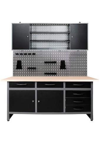 ONDIS24 Werkstatt-Set »Karsten«, 160 cm, höhenverstellbar, inkl. Hakenset kaufen