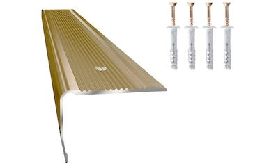 Arbiton Treppenkantenprofil »PS8 Optik Titan«, matt, 30 mm x 40 mm x 120 cm für... kaufen