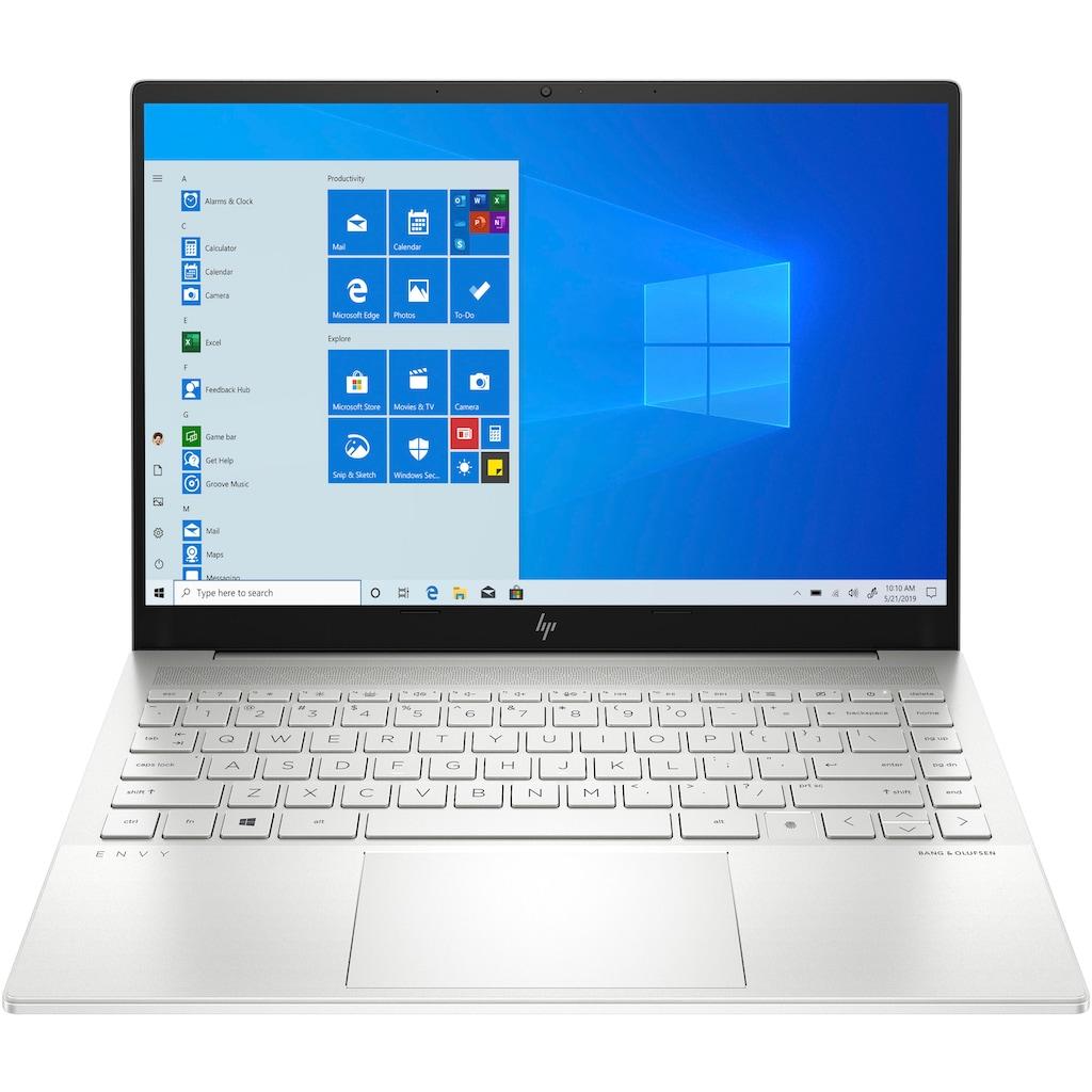 "HP Notebook »ENVY 14-eb0256ng«, (35,6 cm/14 "" Intel Core i5 GeForce GTX 1650 Ti\r\n 512 GB SSD), Kostenloses Upgrade auf Windows 11, sobald verfügbar"