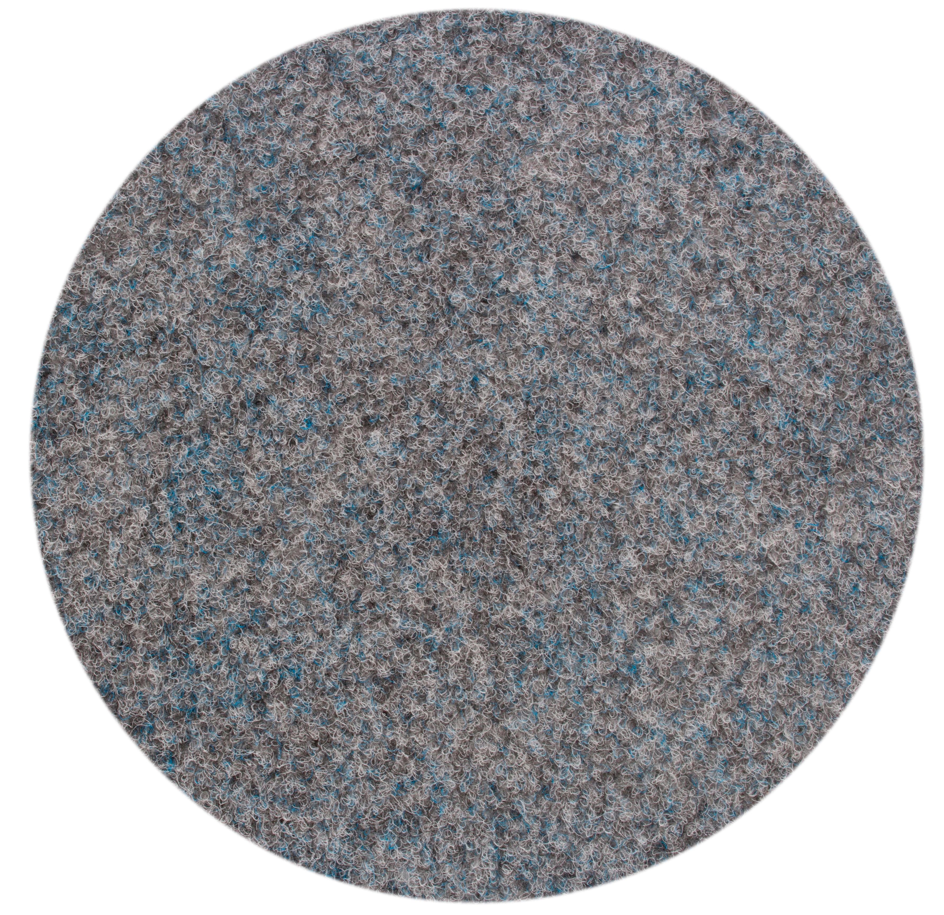 Andiamo Rasenteppich Field, rund, 4 mm Höhe grau Outdoor-Teppiche Teppiche