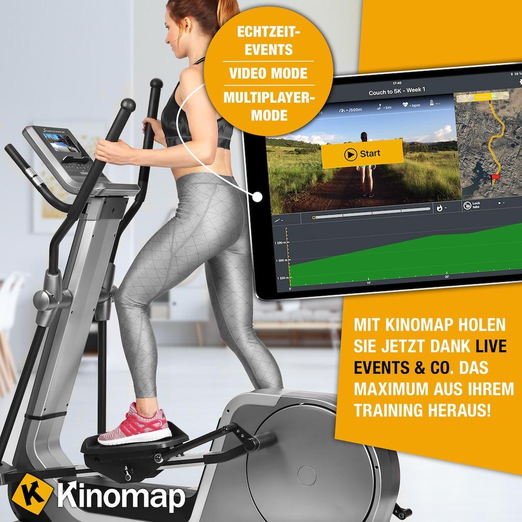 Sportstech Ellipsentrainer »LCX800«, 6 virtuelle Kulissenmodi