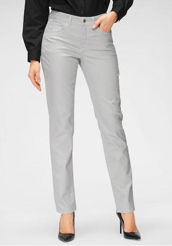 MAC Straight-Jeans »Angela New«, Ziernähte im vorderen Taschenbereich kaufen