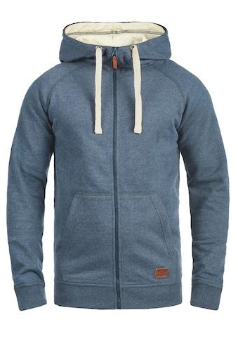 Blend Kapuzensweatjacke »Speedy«, Sweatshirtjacke mit hochabschließendem Kragen kaufen