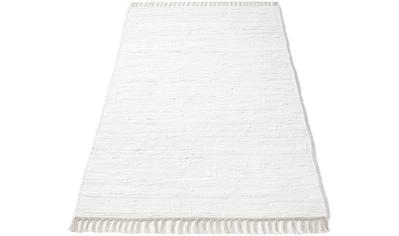 Hochflor - Teppich, »Finni«, , rechteckig, Höhe 4 mm, handgewebt kaufen