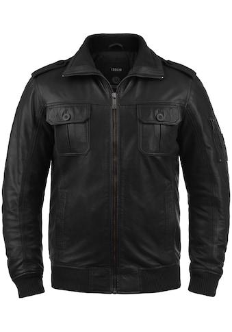 Solid Lederjacke »Famash«, Bikerjacke aus 100% Schafsleder kaufen