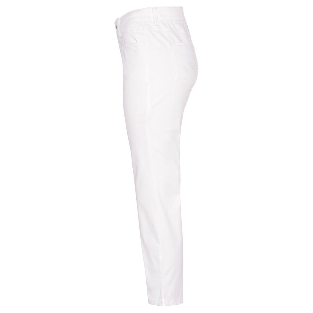 MAC 7/8-Jeans »Angela 7/8 cotton«, Coole Destroyed-Effekte