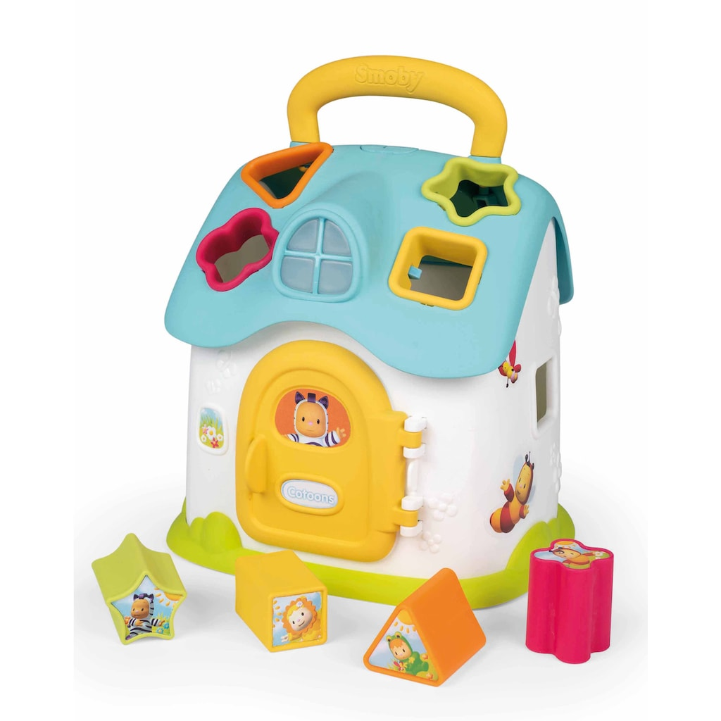 Smoby Steckspielzeug »Cotoons® Elektronisches Steckspielhaus«