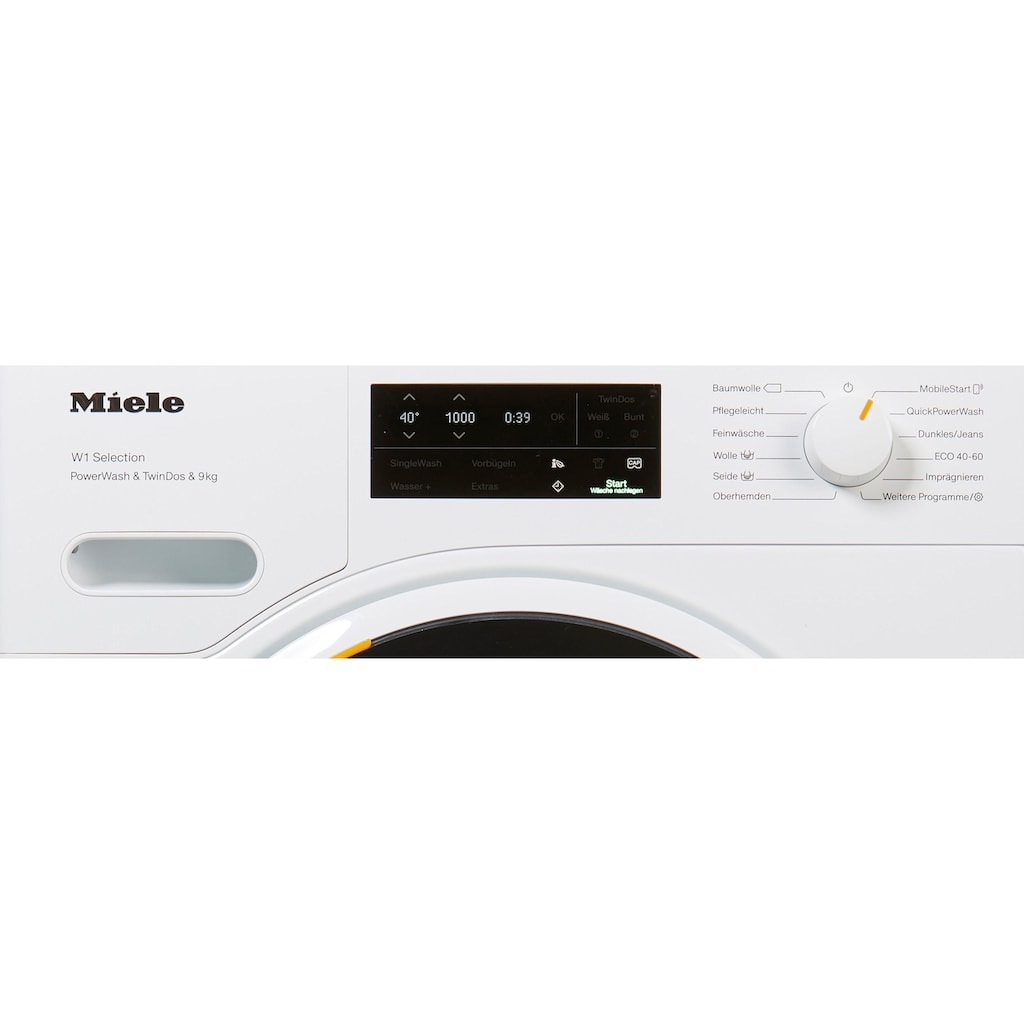 Miele Waschmaschine WSI863WCS D LW PWash&TDos