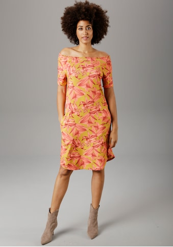 Aniston SELECTED Sommerkleid, mit Carmen-Ausschnitt kaufen