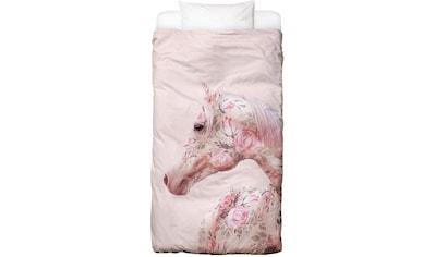 Bettwäsche »Floral Horse«, Juniqe kaufen