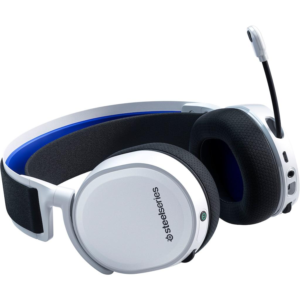 SteelSeries Gaming-Headset »Gaming Headset für PS5 und PS4 Arctis 7P White«