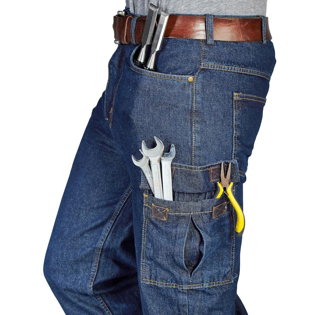 Arbeitshose, mit Zollstocktasche