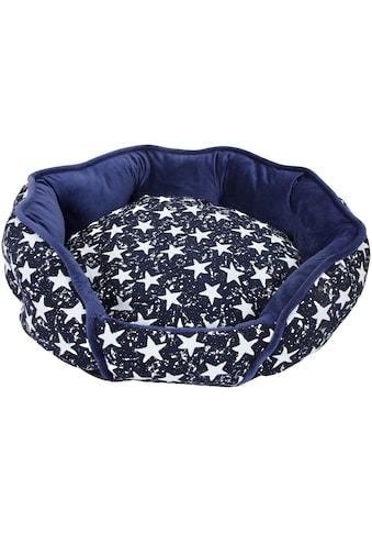 HEIM Hundebett und Katzenbett »Luxus  -  Star«, blau - weiß kaufen