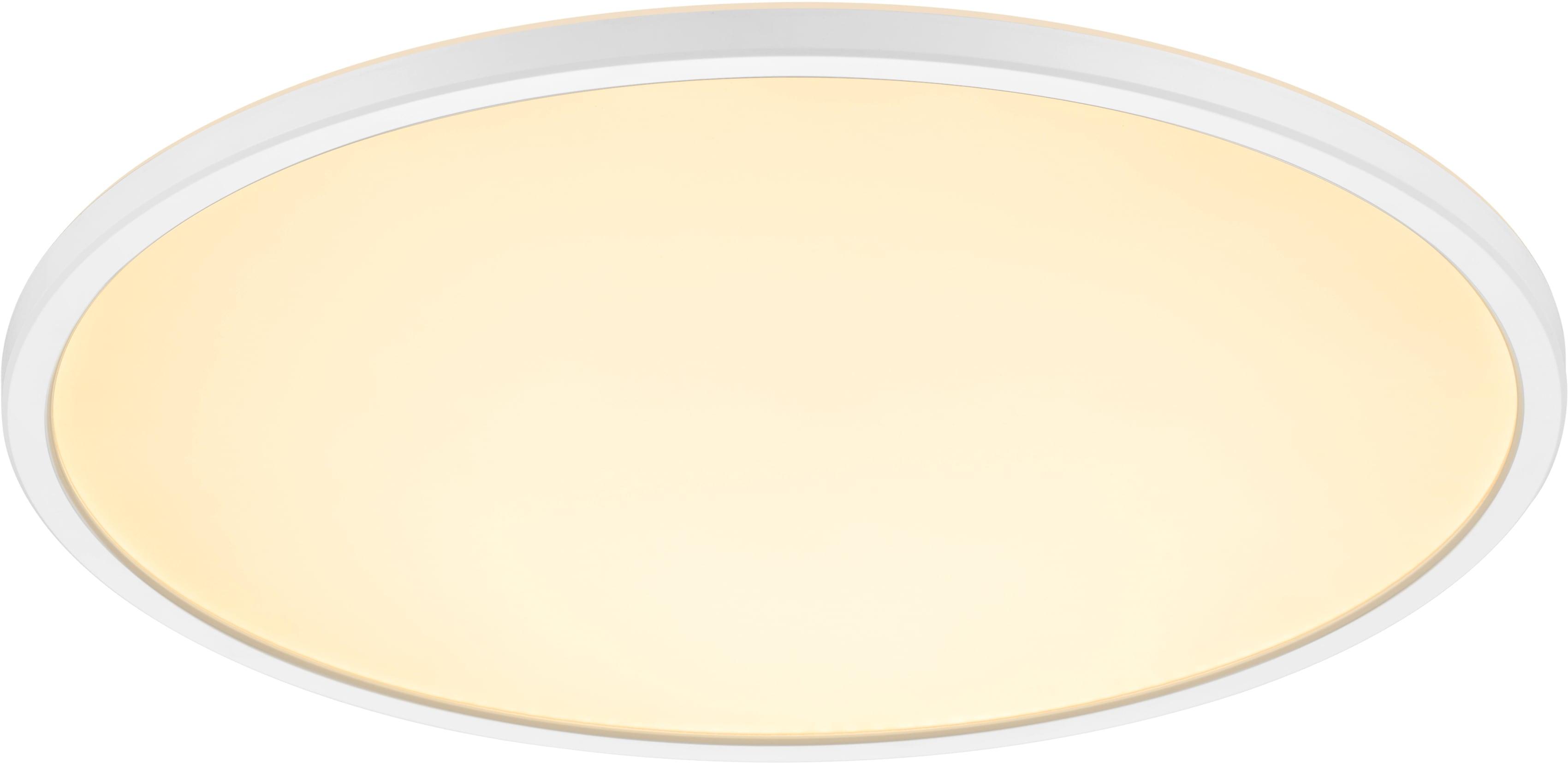 Nordlux LED Deckenleuchte OJA 242 IP20 2700K 3-STEP DÆMP HVID, LED-Board, Warmweiß, LED Deckenlampe