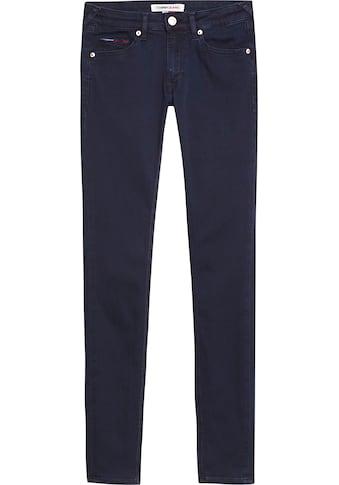 Tommy Jeans Skinny-fit-Jeans »SOPHIE LR SKNY«, mit Tommy Jeans Logo-Badge & Stickereien kaufen