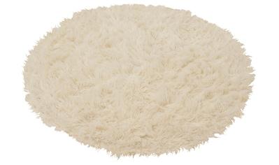 Wollteppich, »Flokati 1500 g«, Böing Carpet, rund, Höhe 60 mm, handgewebt kaufen