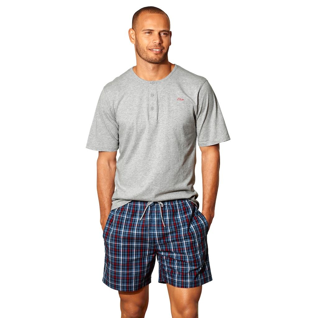 s.Oliver Pyjama, in langer Form