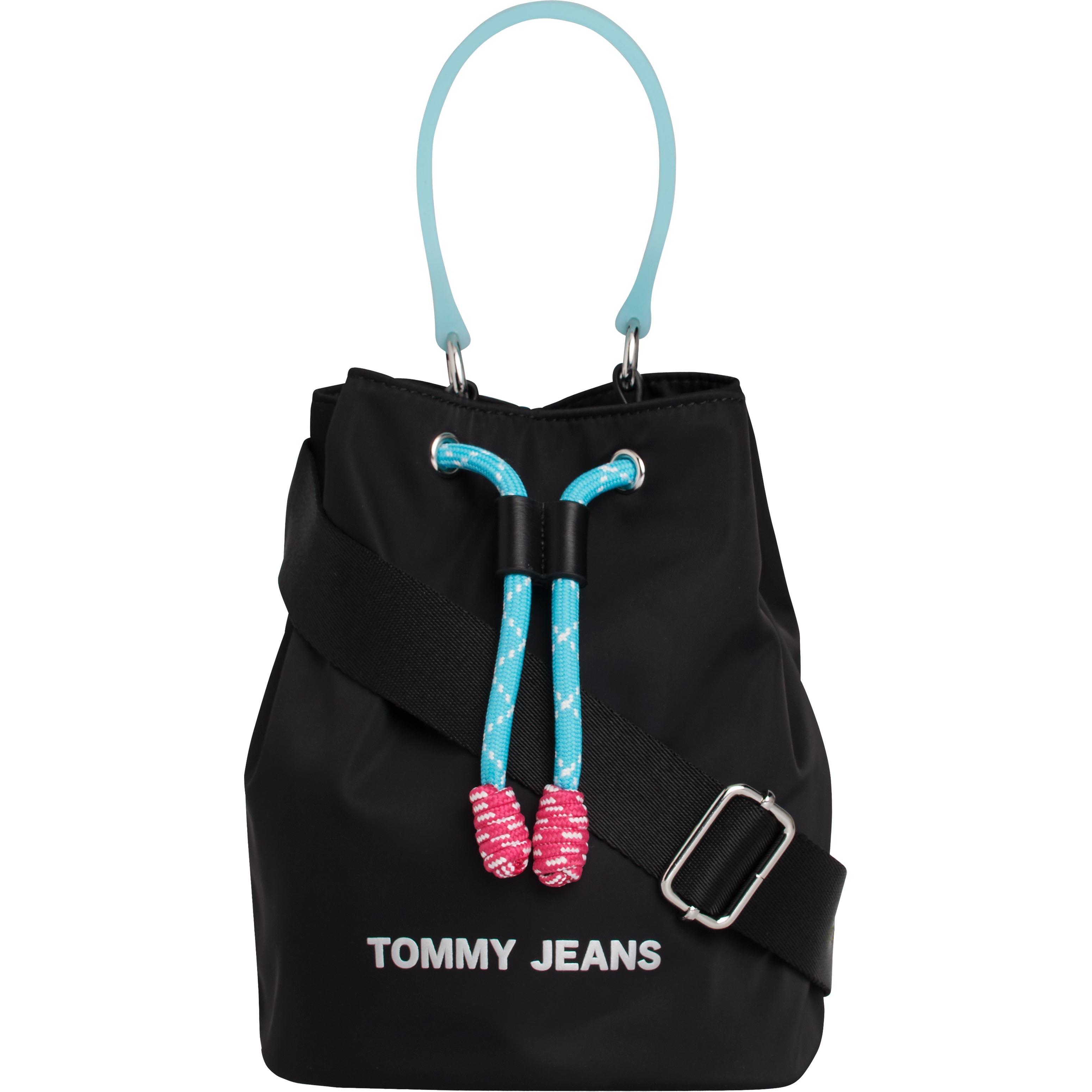 tommy jeans -  Mini Bag TJW NAUTICAL MIX SM BUCKET NYL