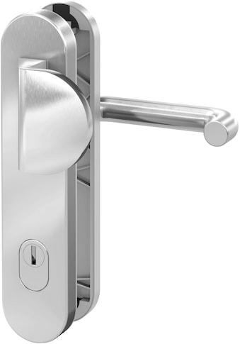 BASI Sicherheitsbeschlag »Edelstahl Haustürbeschlag«, SB 7200, mit Zylinderabdeckung kaufen