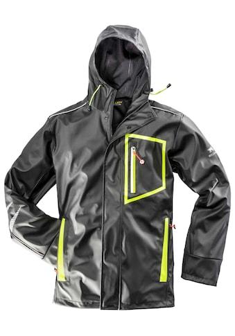 BULLSTAR Regenjacke »Ultra«, schwarz/lime, Gr. S  -  XXXL kaufen