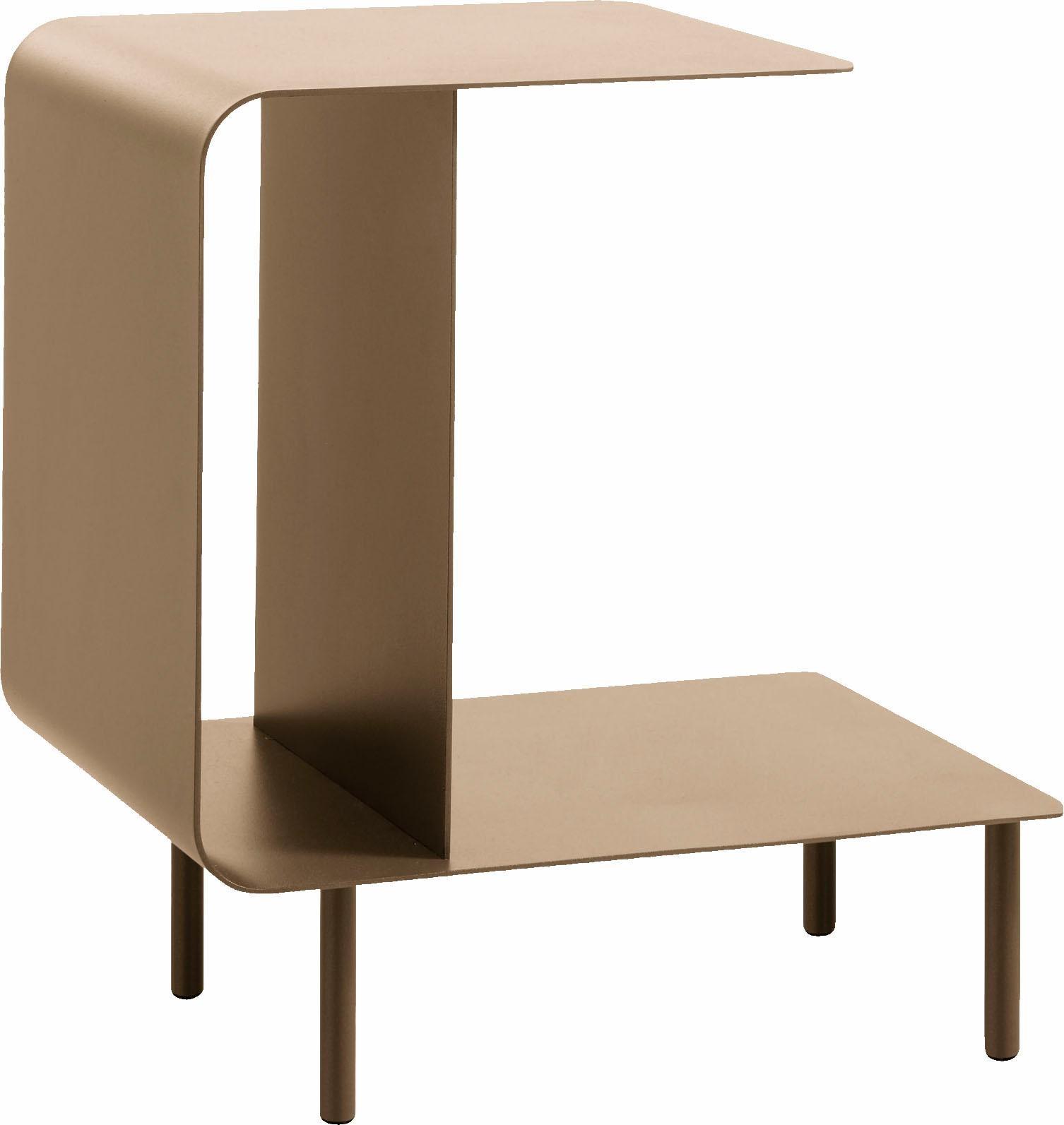 hülsta Beistelltisch MULTI -VARIS 03, aus Metall, Höhe 52 cm rosa Beistelltische Tische