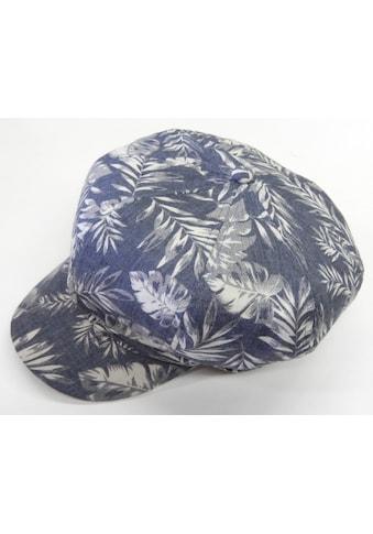 Chaplino Ballonmütze, mit floralem Allover-Motiv kaufen