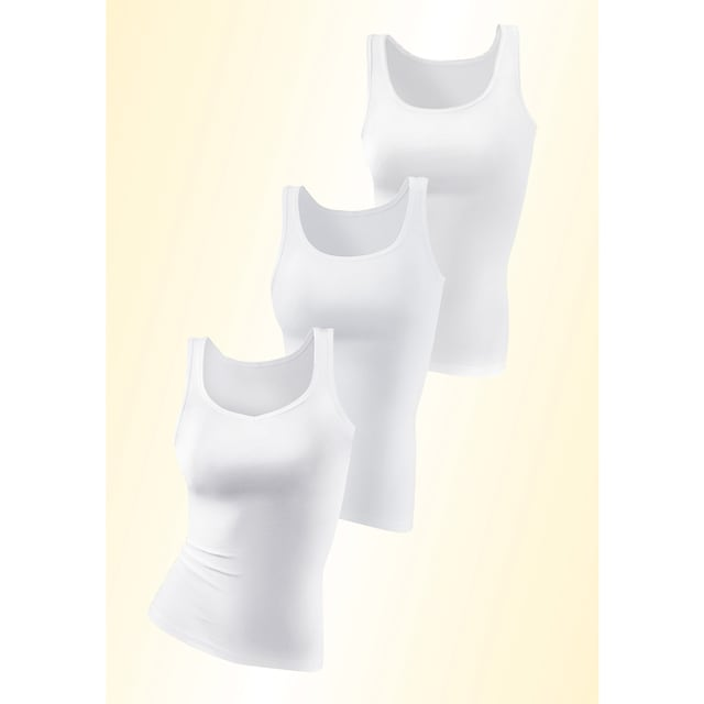 PETITE FLEUR Achselhemd, 3 Stück
