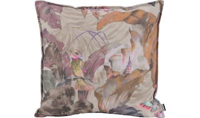 H.O.C.K. Dekokissen »Lilly Love«, mit Vogelprint in Aquarelloptik kaufen