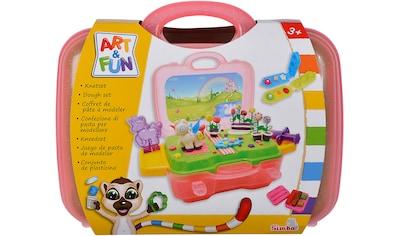 SIMBA Knete »Art & Fun Knetset Einhorn«, im Koffer kaufen