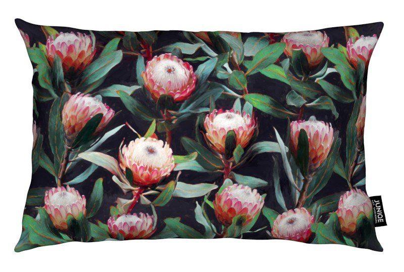 Dekokissen Evening Proteas in Color Juniqe