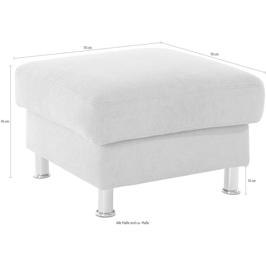 Nova Via Hocker, Hochwertiger Kaltschaum (Belastbarkeit bis 140 kg/Sitz) und wahlweise mit Aqua Clean Stoff für leichte Reinigung mit Wasser