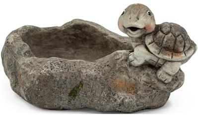 NOOR LIVING Gartenfigur »Pflanzschale mit Schildkröte«, (1 St.) kaufen