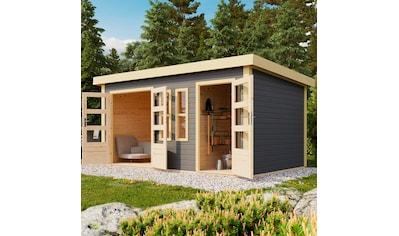 KARIBU Gartenhaus »Prenzlau«, BxT: 458x302 cm, mit 2 Räumen kaufen