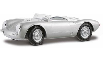 Maisto® Sammlerauto »Porsche 550A Spyder, 1:18, silberfarben«, 1:18, mit Lenkung und Federung kaufen