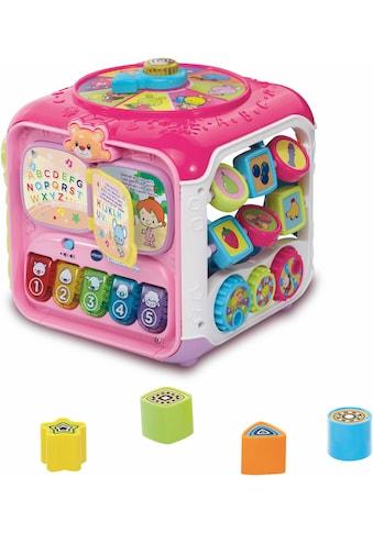 Vtech® Lernspielzeug, »Spielwürfel, Entdeckerwürfel, pink« kaufen