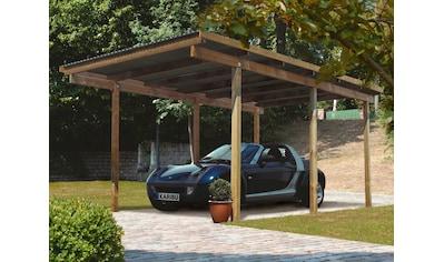 KARIBU Einzelcarport »Eco 1«, BxT: 304x490 cm kaufen