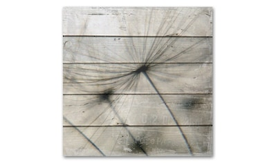 Holzbild »Pusteblume« kaufen