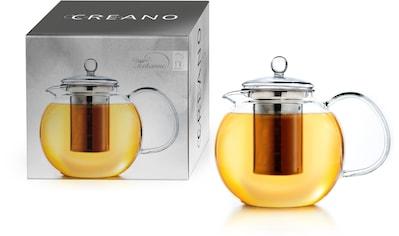 Creano Teekanne, 0,85 l, (1), Borosilikatglas, Edelstahlfilter kaufen