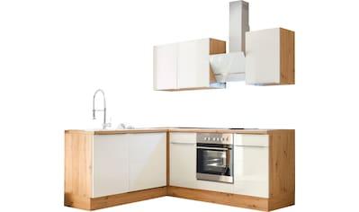 RESPEKTA Winkelküche »Safado«, mit 2 E-Geräte-Sets zur Auswahl, hochwertige... kaufen