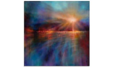 Artland Glasbild »Ein neuer Morgen«, Gewässer, (1 St.) kaufen