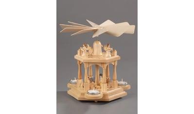 Albin Preissler Weihnachtspyramide »Christi Geburt«, 2 Etagen, Made in Germany kaufen