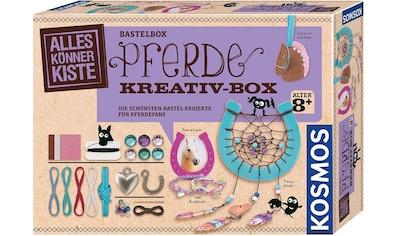 """Kosmos Kreativset """"AllesKönnerKiste Pferde Kreativbox"""" (Set) kaufen"""