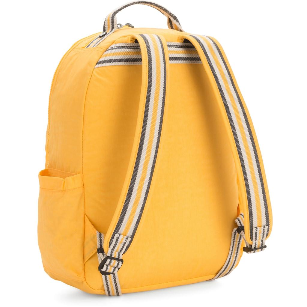 KIPLING Laptoprucksack »Seoul, Vivid Yellow«